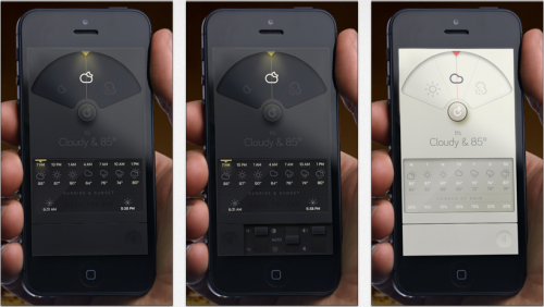 Iphone Wetter Apps Weather Dial