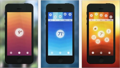Wetter Apps fürs iPhone Haze